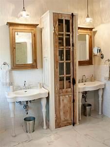 Salle De Bain En L : meuble salle de bain r cup 70 id es pour une d co qui respire l authenticit obsigen ~ Melissatoandfro.com Idées de Décoration