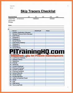 comfortable investigation checklist template gallery With private investigator report templates