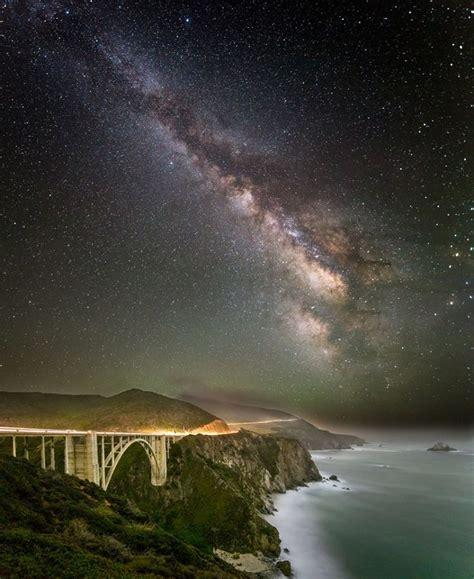 Bixby Bridge Big Sur California Starry Night
