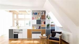 Regal Unter Dachschräge : regal unter dachschr ge regal mit schubk sten unter einer dachschr ge eingepasst b cherregal ~ Sanjose-hotels-ca.com Haus und Dekorationen
