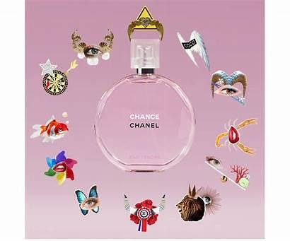 Chanel Zodiac Chance Perfume Signs Star Animated