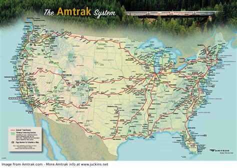 Amtrak Routes At A Glance