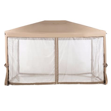 abba patio 10x12 fully enclosed garden gazebo patio