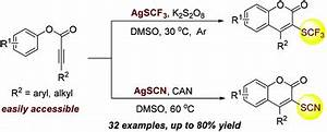 Direct radical trifluoromethylthiolation and thiocyanation ...
