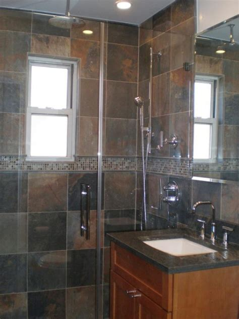 Bathroom Slate Tile Ideas by Home Remodeling Design Kitchen Bathroom Design Ideas