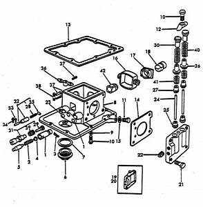 Hydraulic Pump Parts For Ford 8n Tractors  1947