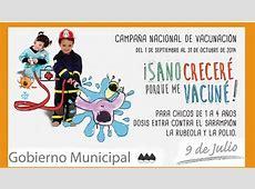 Nueva campaña de vacunación para niños de 1 a 4 años