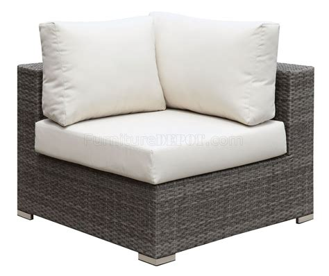 somani cm os2128 6 outdoor patio u shaped sectional sofa