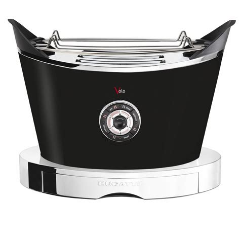 With porsche cashing in on home gadgets, it's not too surprising to see this bugatti volo toaster. Volo Toaster by Casa Bugatti on Luxxdesign.com