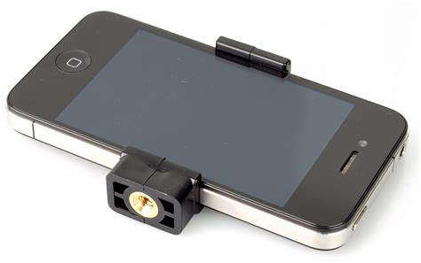 attachment for iphone gary fong flip cage and iphone 4 tripod adapter review