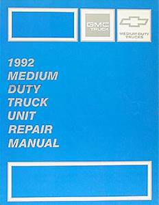 1992 Chevy Kodiak  Gmc Topkick And P6 Wiring Diagram