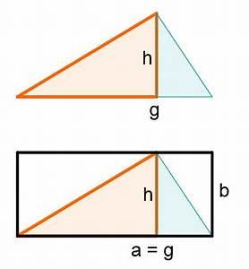 Vektor Aus Betrag Und Winkel Berechnen : fl cheninhalt eines dreiecks aus grundlinie und h he berechnen herleitung mathe artikel ~ Themetempest.com Abrechnung