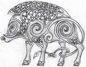 Celtic Boar by Lariethene on deviantART