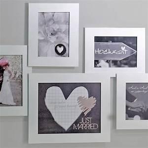 Großer Bilderrahmen Für Mehrere Bilder : bilderrahmen f r 5 fotos wei ~ Bigdaddyawards.com Haus und Dekorationen