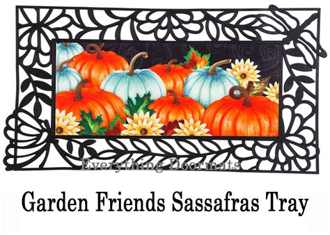 Thanksgiving Doormat by Sassafras Thanksgiving Pumpkins Switch Mat 10 X 22 Doormat