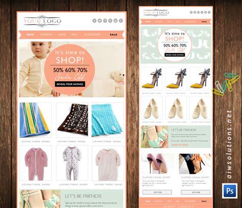 eblast template fashion design template