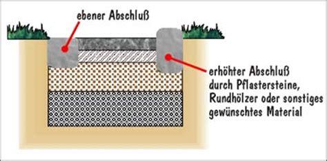 unterbau pflaster gehweg unterbau pflaster befahrbar