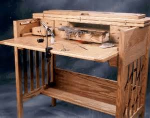 wooden fly tying desk woodworking plans plans pdf download