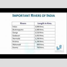 1st Grade English Comprehension Worksheets On Important Rivers Of India Youtube
