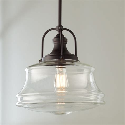 schoolhouse pendant light schoolhouse bell pendant shades of light