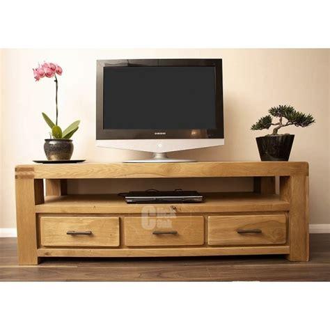 oak tv stands oslo oak rustic oak large tv stand cabinet click oak