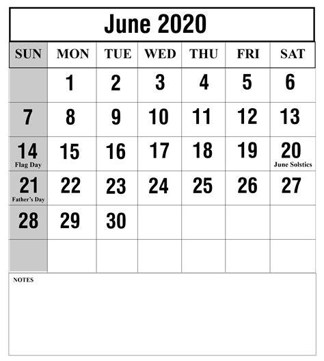 printable june calendar templates pdfwordexcel calendar top