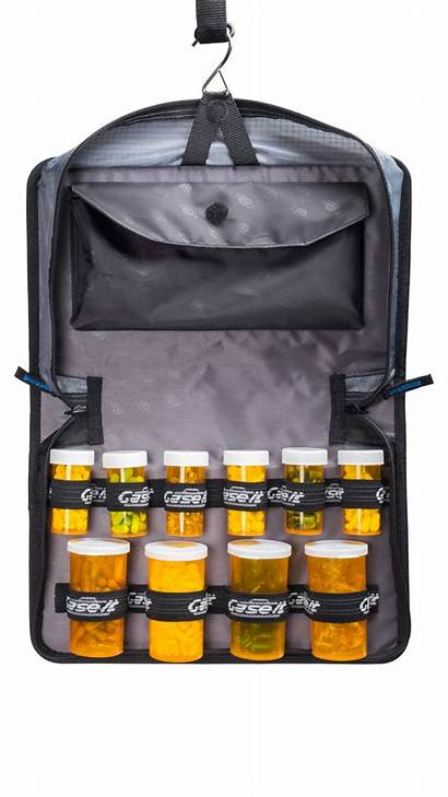 Binder Organizer Medical Portable Amano Pix Clock