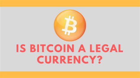 California is in a legal limbo, since it. Is bitcoin a legal currency? - Quora