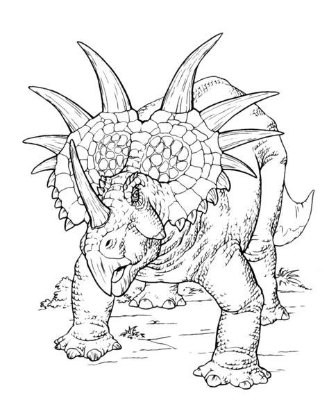 disegni  dinosauri da colorare
