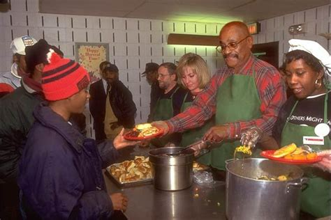 soup kitchen in soup kitchen on