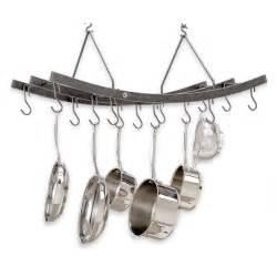 enclume 174 premier reversible arch hanging pot rack 226502