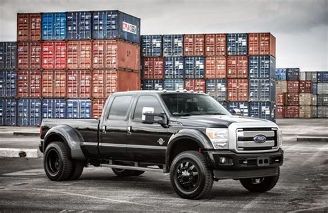 Black Truck Wallpaper by Ford F350 Duty Truck Cars Black Tuning