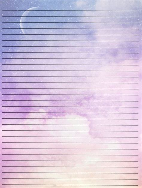 beautiful lined writing paper stationery lined writing