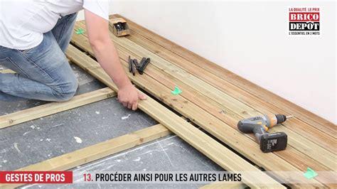 Lame De Terrasse Bricomarché Comment Fixer Des Lames De Terrasse
