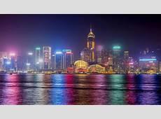 Hong Kong Nighscape 4K Wallpapers HD Wallpapers ID #19774