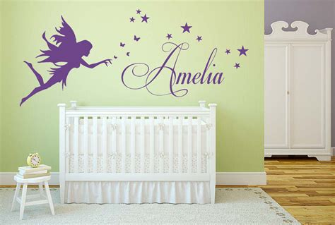 Bedroom Names by Personalised Name Vinyl Wall Sticker
