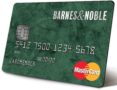 barnes and noble credit card barnes noble mastercard