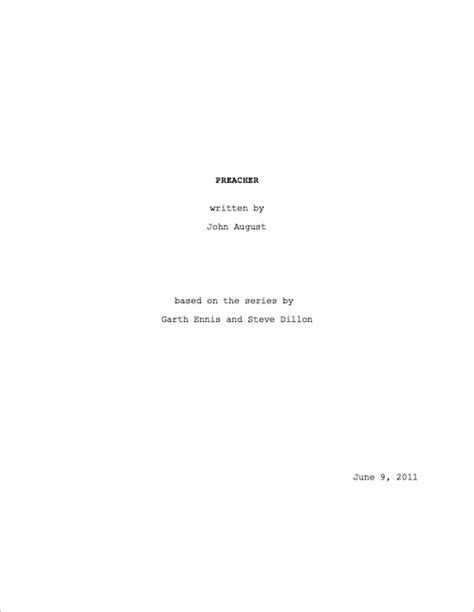What Does A Cover Page Look Like For A Resume by Title Pages Include The Title Writer S Name And Based On Screenwriting Io