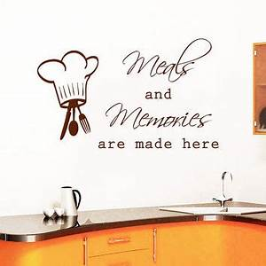 shop dining room wall art on wanelo With best brand of paint for kitchen cabinets with scripture wall stickers