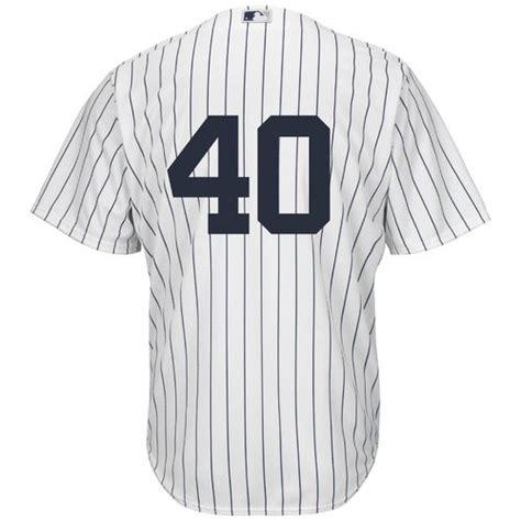 Majestic Men's New York Yankees Luis Severino #40 Number