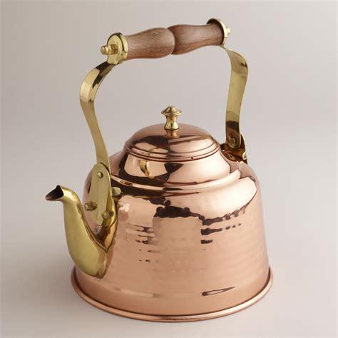 hammered copper tea kettle world market copper tea kettle tea kettle tea pots