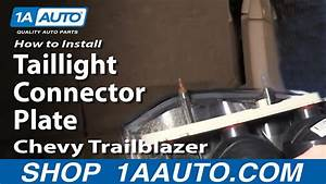 How To Install Repair Replace Taillight Connector Plate