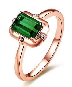 emerald gemstone engagement rings designer 1 carat emerald and engagement ring in gold jeenjewels