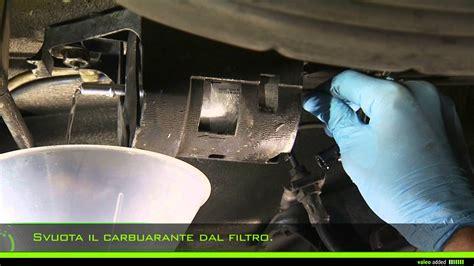 valeo filtri carbarante montaggio del filtro carburante