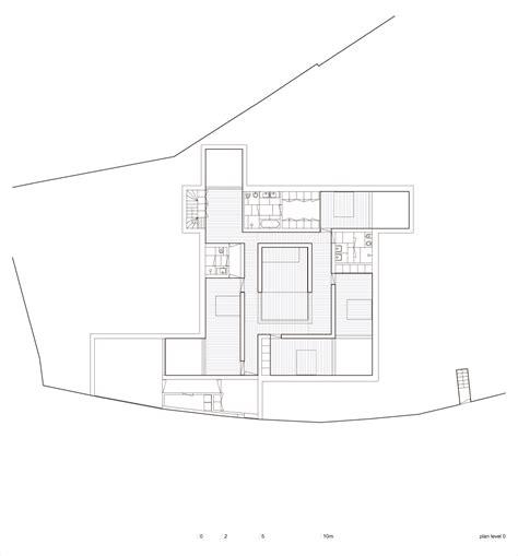 center courtyard house plans house in leiria urbannext