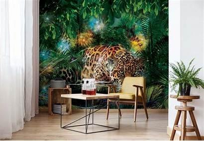 Jungle Leopard Easy Murals Mural Install Wall
