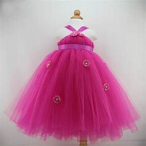 Cute Baby Girl Birthday Party Dresses Tutu Princess Infant ...