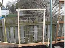 Trellis for Vegetables made Quickly, and CHEAPLY YouTube