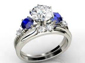 engagement ring with sapphire accents engagement rings with sapphires accents 2