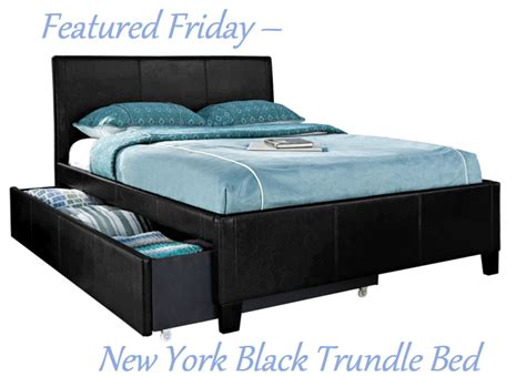 featured friday new york black trundle bed american